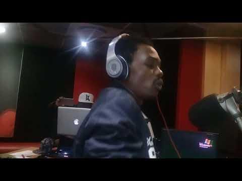 Kinnah at yfm radio station South Africa