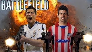 BATTLEFIELD CHAMPIONS LEAGUE Road to Lisbon 2014 ft Cristiano Ronaldo Diego Costa Messi