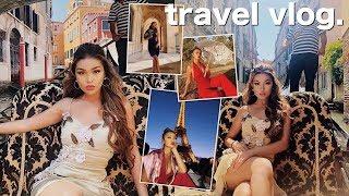 SERVING LOOKS AROUND THE WORLD (travel vlog)