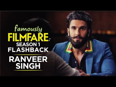Ranveer Singh talks about love, movies and stardom | Ranveer Singh Interview | Famously Filmfare S1
