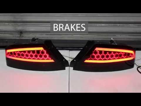 Evo Custom LED Tail Light Demo - Diffusion Hex - Illumaesthetic Tutorials