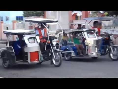 Calapan City Mindoro Tricycles at Jollibee