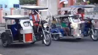 Calapan City Mindoro Tricycles at Jollibee w/Randy and Pinky