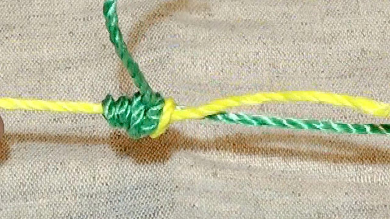 Супер узел для связывания шнура и лески.