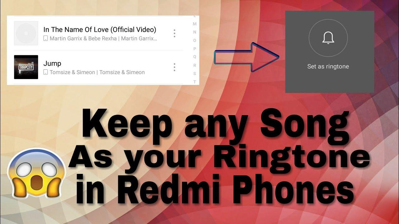 redmi ringtone song mp3