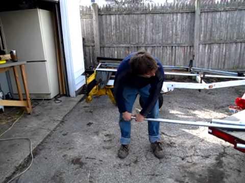 Hoop House pipe bending