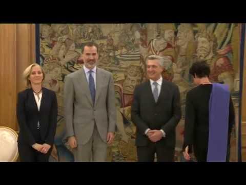 S.M. el Rey recibe al Alto Comisionado de ACNUR, Filippo Grandi