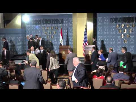 Kerry Visits Cairo, First High-Level American Visit Since Morsi's Removal
