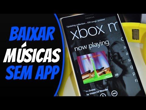Como baixar músicas sem aplicativos no seu lumia!