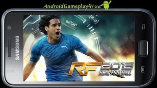 Real Football 2013 Free Android Game Gameplay (Gameloft-FREE) [Game For Kids]