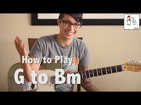 Guitar Tips & Tricks #9:  G open position to Bm barre chord transition