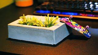 【指スケ】無駄にクオリティ高い花壇レッジ作ってみた。指スケはロマン