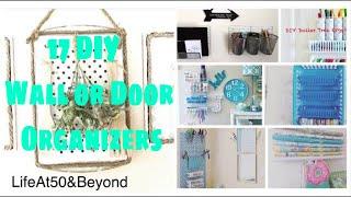 17 DIY Dollar Tree Multipurpose Wall or Door Organizers (Easy)