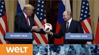 ERGEBNISSE VON HELSINKI: Pressekonferenz von Trump und Putin