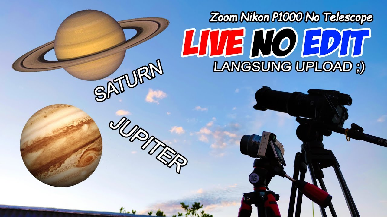 ZOOM PLANET No Cut No Edit Langsung Upload (Jupiter & Saturn)