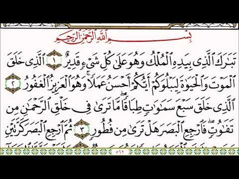 Surat Al Mulk tabarakallazi beard oil Malkova wala kuliseen qadeer