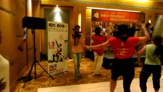 "Zumba® Choreo on ""The Power of Bhangra"" with ZES Sucheta Pal"