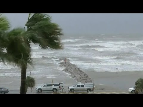 Galveston, Texas is in danger of serious storm surges