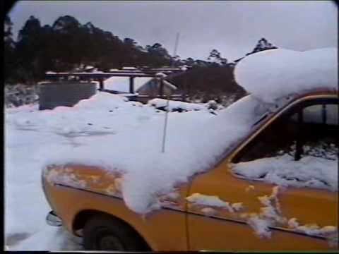 Brisbane TV 1984 - BTQ7: Seven National News - Snow In Queensland (Australia)