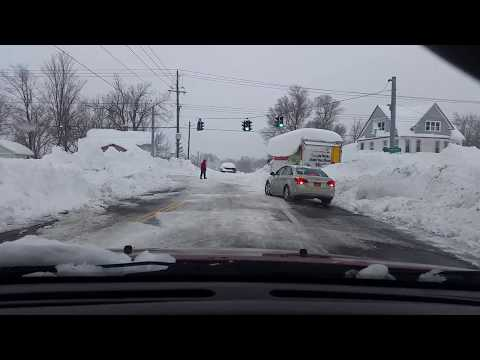 Part 2 - driving in Buffalo Snow Storm November 2014