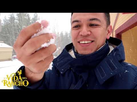 Dicen que hacia mucho no nevaba asi en BIGBEAR y me toco VERLO!