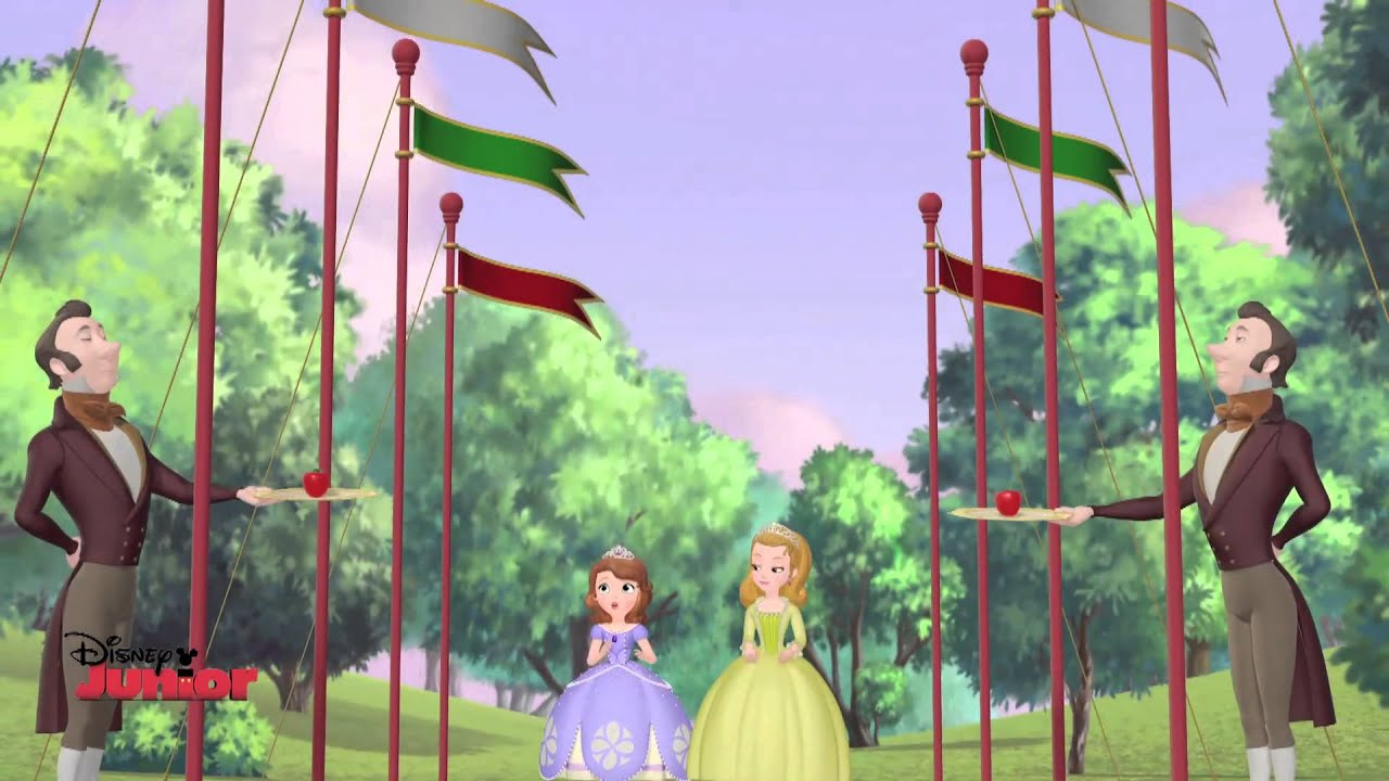 Sofia The First - Tri-Kingdom Picnic Song - Official Disney Junior UK HD
