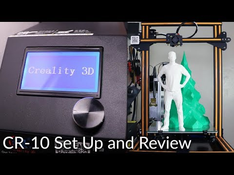CR-10 Set Up and Review