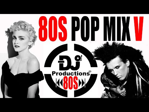80S POP MIX V DJ PRODUCTIONS PET SHOP BOYS - MADONNA - BRONSKI BEAT - DEAD OR LIVE & MUCH MORE