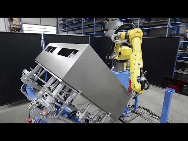 Kästen Roboterschweissen