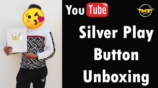 Unboxing My Silver Play Button 🥳 🎉🎊 |  Thank You So Much For Your Support 😍 | MZ Edit
