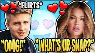 Symfuhny FLIRTS With GIRL He Met In Random Duos!