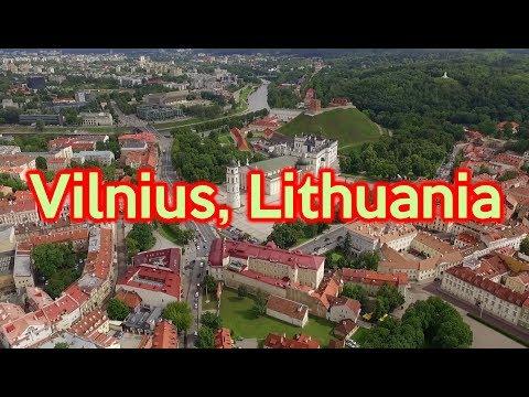 Vilnius, Lithuania (DJI Phantom 3 Advanced, 2.7K)
