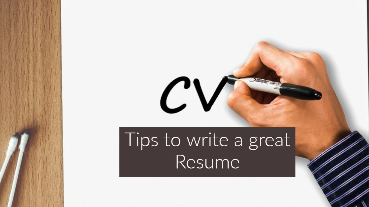 best way to write a resume summary