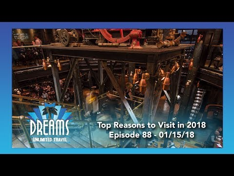 Top Reasons to Visit Disney Destinations in 2018 | 01/15/18