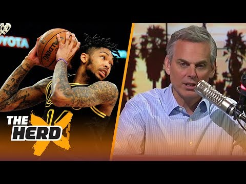 Colin on the Lakers rebuild going into 2018 offseason, changing the NBA playoffs | THE HERD