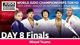 World Judo Championships 2019: Day 8 - Final Block
