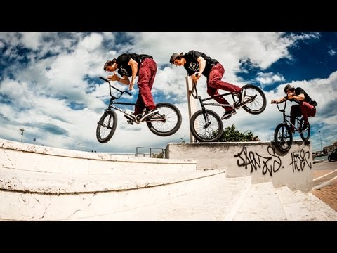 BMX Highlights vom Red Bull Design Quest