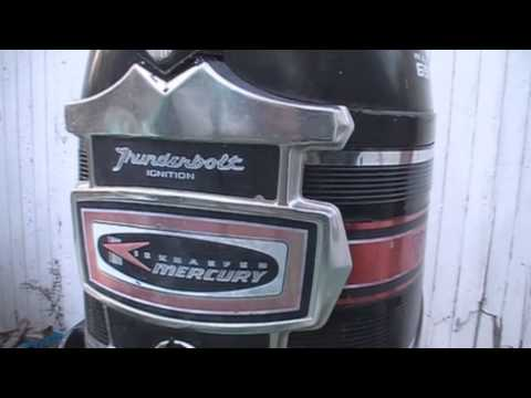 1969 Merc 650 65hp outboard on a late 60's North Craft Playboy: A closer look!