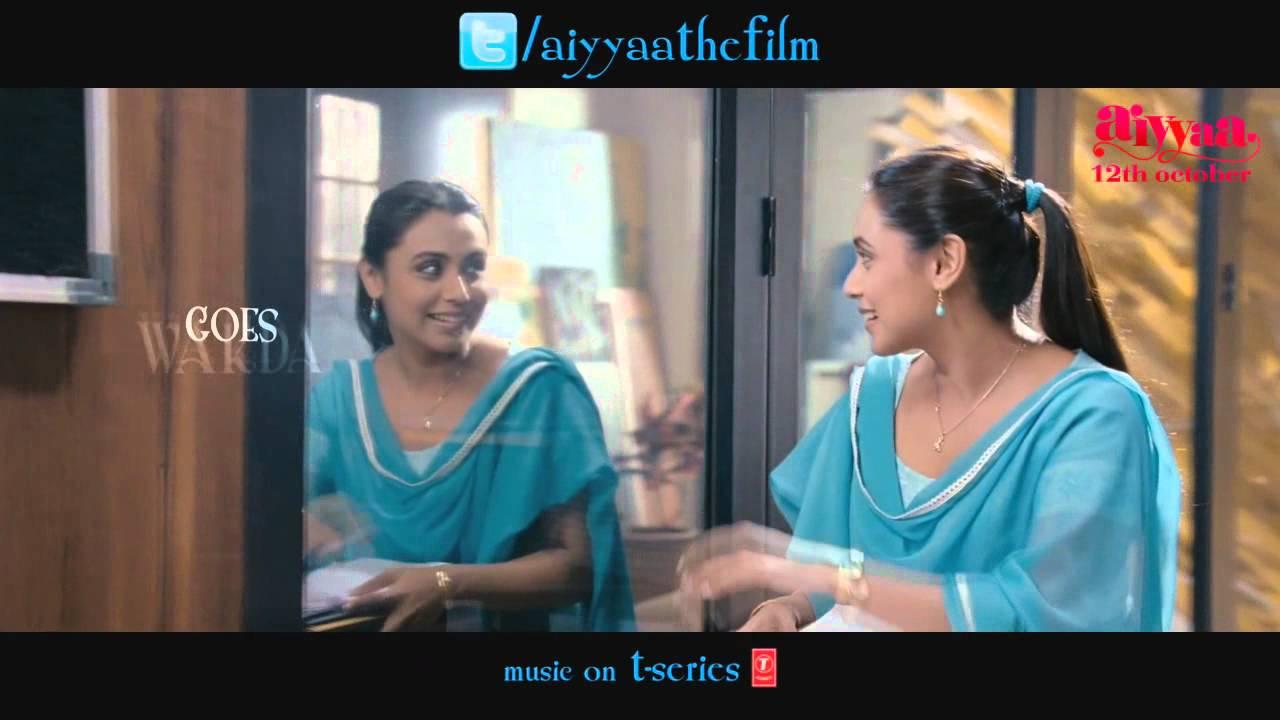 Meenakshi's WAKDA love life | Aiyyaa 2012 | Rani Mukerji & Prithviraj Sukumaran