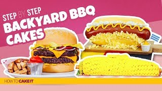 3 Backyard BBQ CAKES! | Compilation | How To Cake It