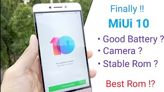 MiUi 10 For Leeco Le 2  Full Review  Battery  Performance  Stable Rom