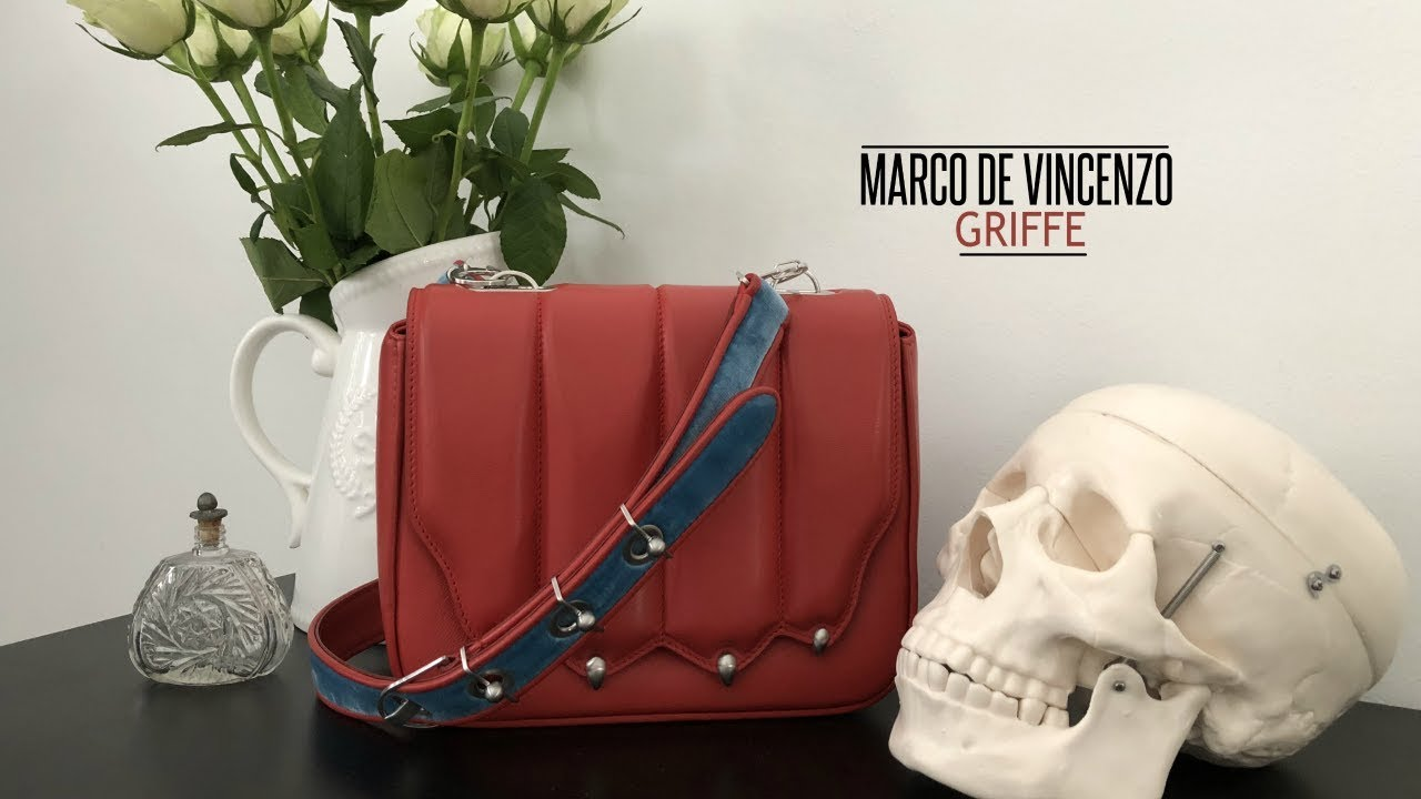 HANDBAG REVIEW  MARCO DE VINCENZO GRIFFE PAW BAG  e193c5d85c5bb