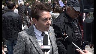 Անահիտ Բախշյանը միացել է ՇՊՀ-ի ռեկտորի հրաժարականը պահանջող բողոքի ակցիային