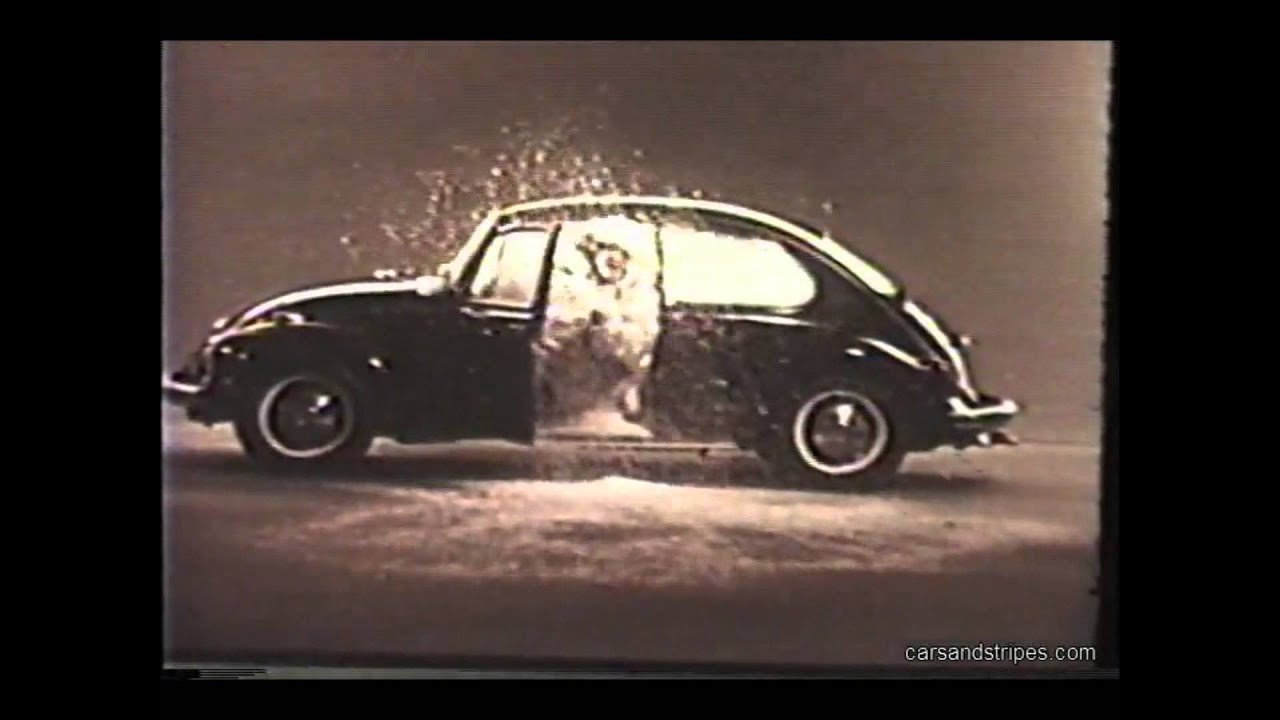 1968 VW Volkswagen Beetle Bug Announces Air Conditioning - YouTube