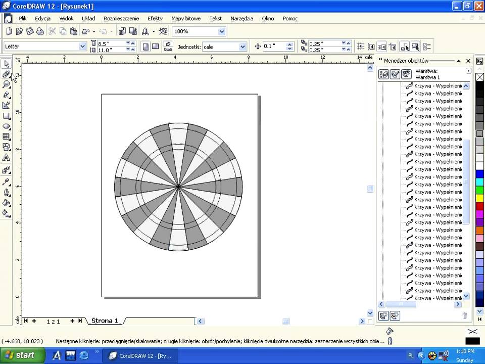 tutorial darts corel draw 12 teb-ps - YouTube