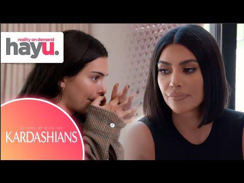 Kim & Kourtney FIGHT Over Work Ethic   Season 18   Keeping Up With The Kardashians