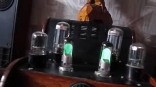 ламповый усилитель на 6п3с