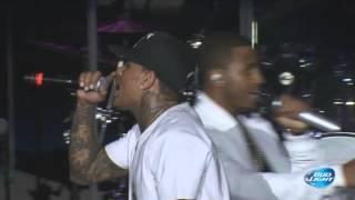 Chris Brown & Trey Songz performing at Cali Christmas Festival   Los Angeles