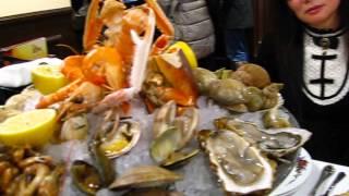 Plateau de fruits de mer à la brasserie chez Jenny à Paris 75011 République