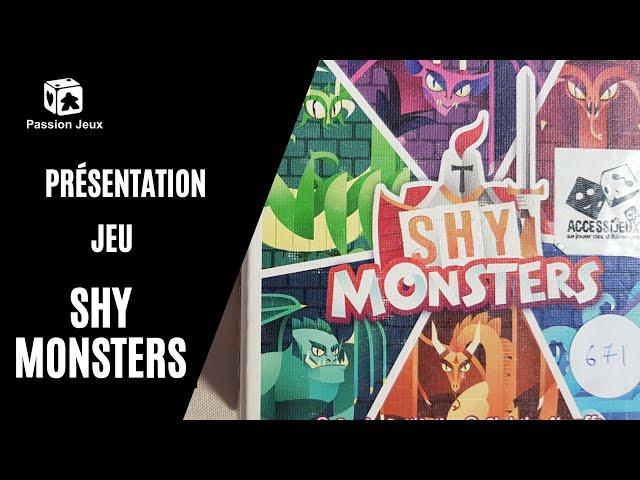 Shy Monsters : Présentation accessible du jeu